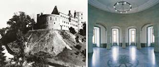 قلعة فيلفيسبرغ والقاعة التي كانت معبداً لجماعة فريل حيث كان المخلصون لهتلر يحضرون اجتماعاتها ويوجهون الحزب النازي