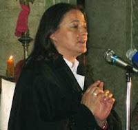 ميرنا الأخرس الملقبة بـ خادمة الصوفانية ،في عام 2007