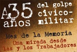 Del 1º al 18 de marzo Mes de la Memoria