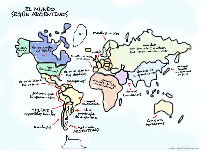 El mundo segun los argentinos