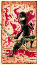 Un ninja indignado por Javier Suppa