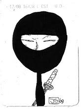 Un ninja indignado por Javi Suppa 3
