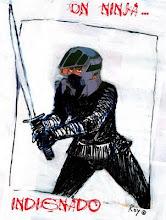 Un ninja indignado por Roy Foker