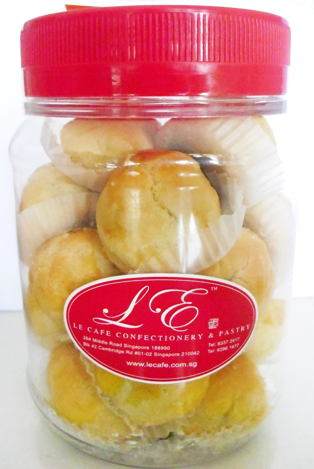 Le Cafe Pineapple Tarts Review