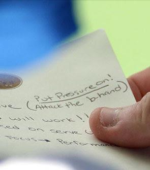 Anotación del jugador de tenis Mardy Fish ante el presente encuentro con Andy Roddick