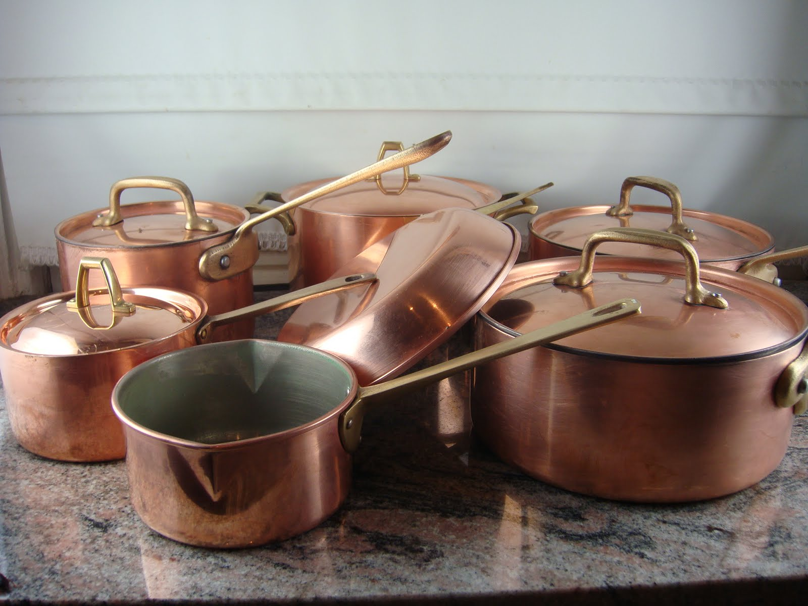 Copper Pots and Pans for Sale