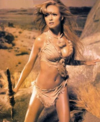 Woman raquel welch cave