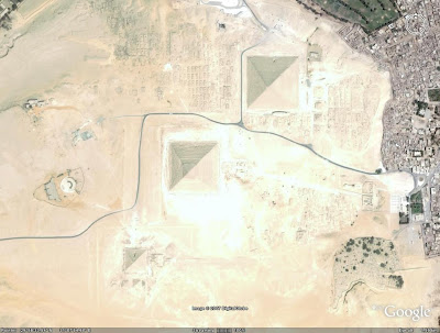 Egyptian Pyramids, Giza, Egypt