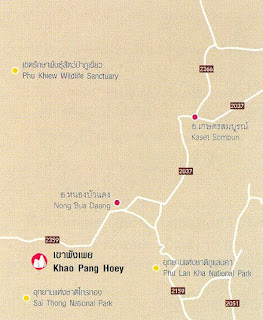 Khao Pang Hoey Map at thailand-mountains.blogspot.com