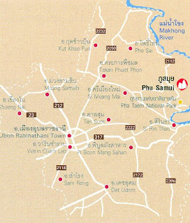 Phu Samui Map at thailand-mountains.blogspot.com