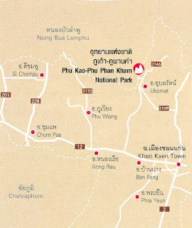 Phu Kao-Phu Phan Kham Map at thailand-mountains.blogspot.com