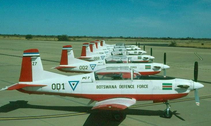 Armée du Botswana/Botswana Defence Force Flottepc7