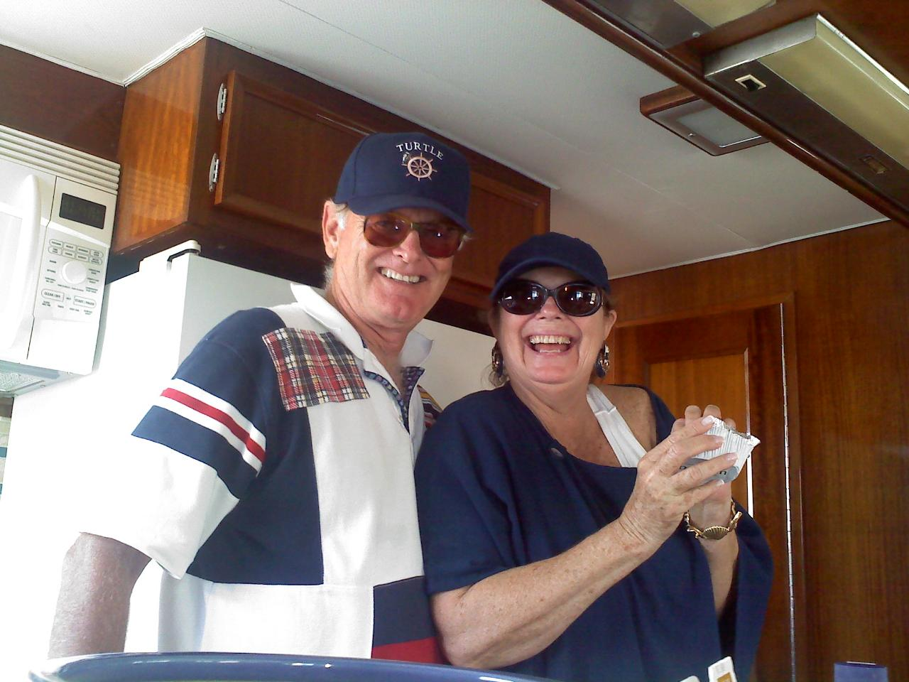 Paradise Yachts Blog: New Owners of 58 ft. Hatteras LRC!