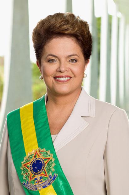IMAGEM - Foto oficial da presidenta Dilma Rousseff