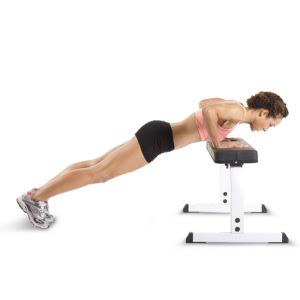 exercice pompe incliné