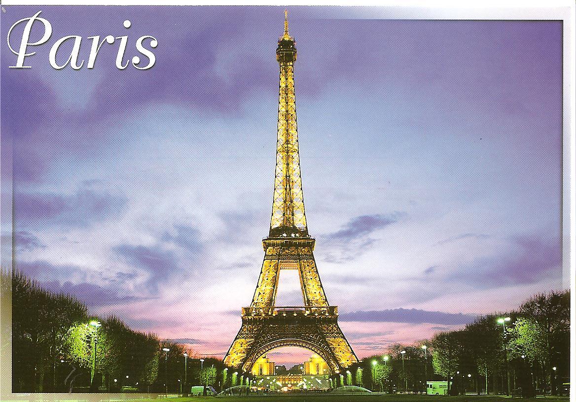 MY POSTCARD PAGE FRANCE Paris