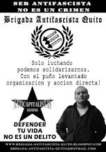 Solidaridad con el Camarada Alvaro Paredes