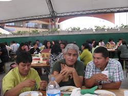 El almuerzo en Comas