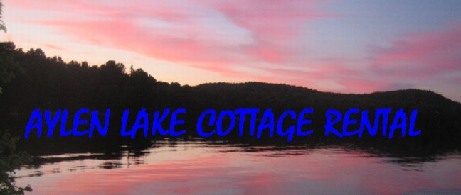 Aylen Lake Cottage Rental