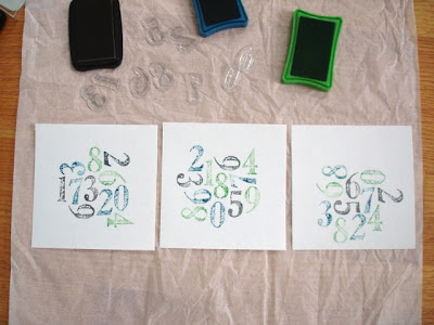 typography wall art {for the kids}