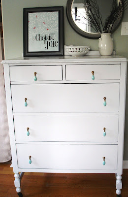 a serendipitous kind of day (dresser reveal)