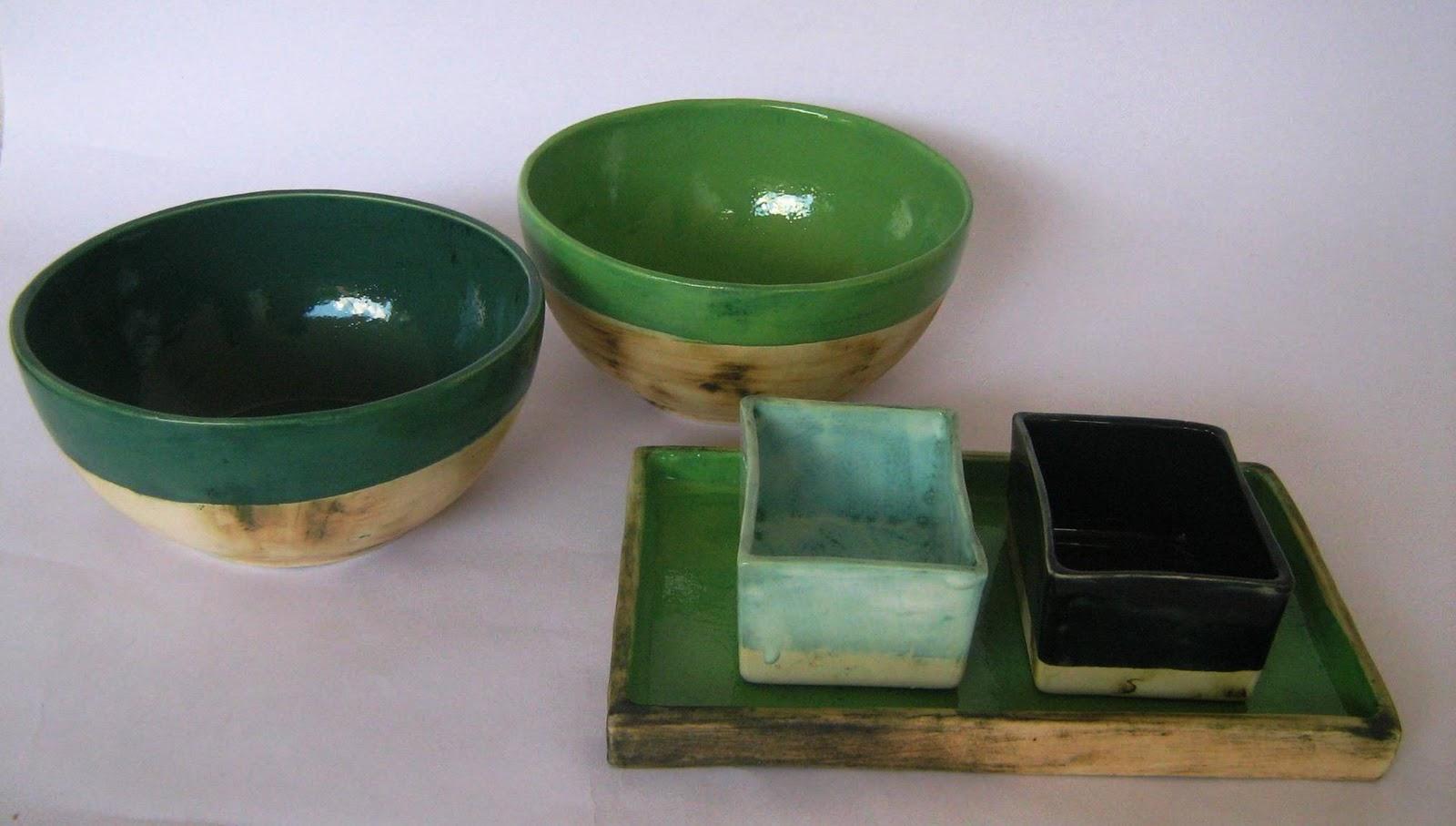 Hakuna matata ceramica artesanal cuencos y distintas for Materiales para ceramica artesanal