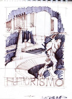 Disegno e rilievo architettura disegnata taccuini parte 5 for Architettura disegnata