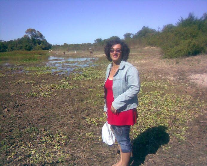 Professora Ana na luta pela uma água potável para a comunidade