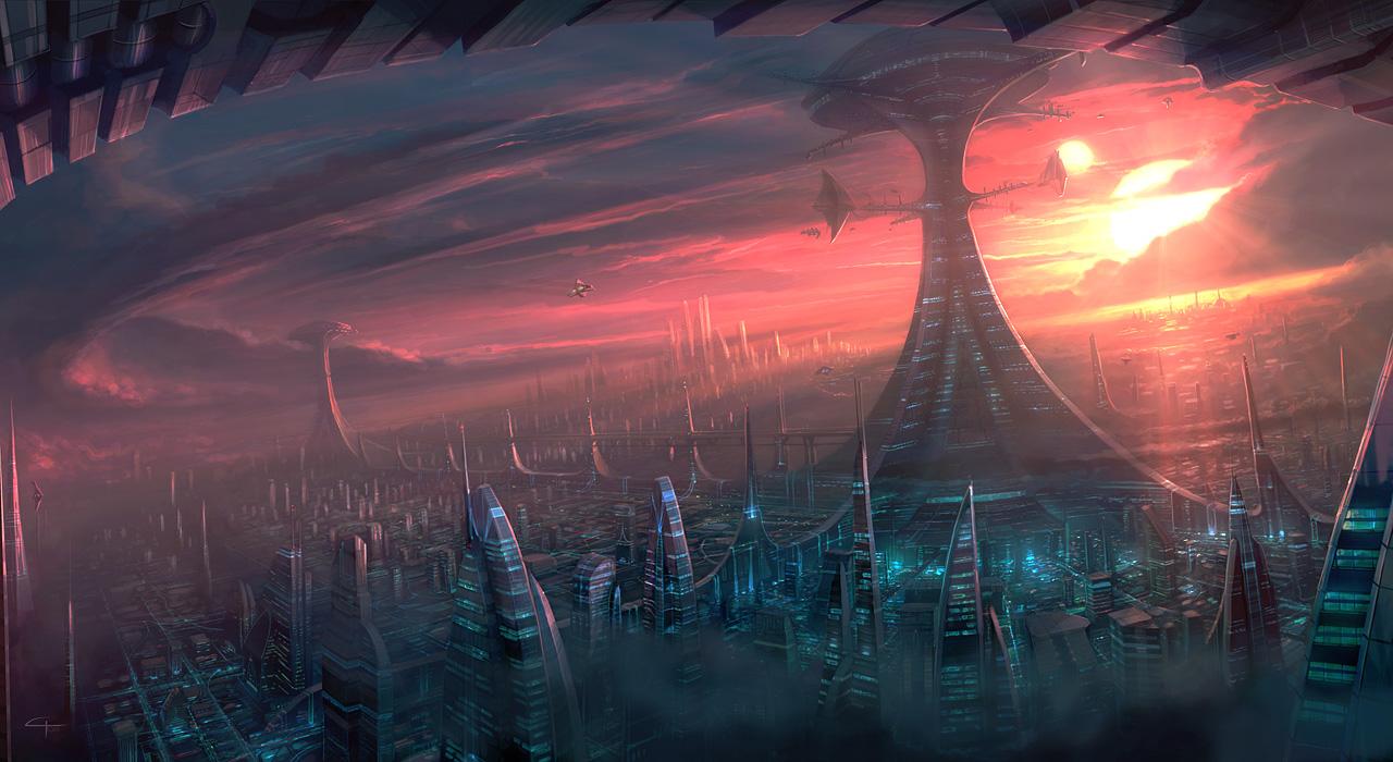 ciudades del espacio