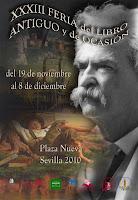 La Feria del Libro Antiguo y de Ocasión de Sevilla se celebrará del 19 de noviembre al 8 de diciembre