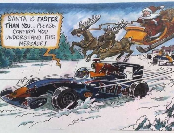santa is faster than you