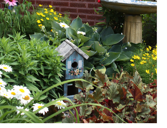 Mom's Birdhouse Collection