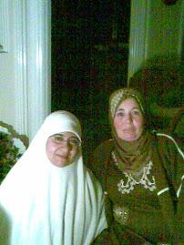 أنا مع زوجة د / محمود الزهار