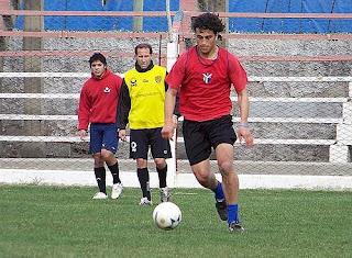 Daniel Lovaiza entrenamiento con Cipolletti