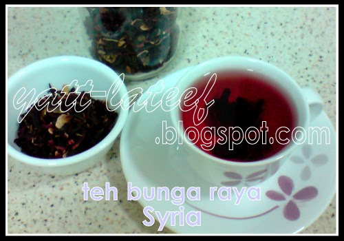 Teh Bunga Raya Organik Hibiscus Tea Formula Anti Murung