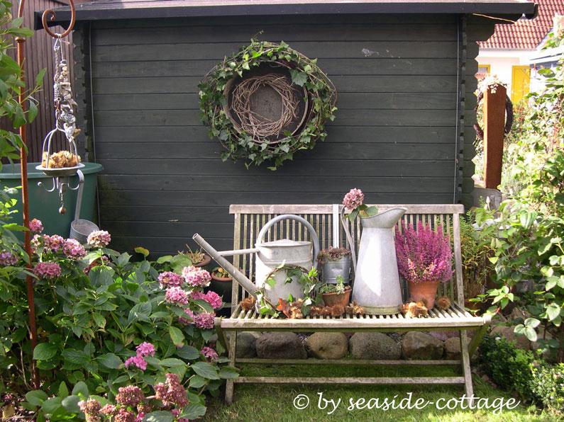 SeasideCottage Herbstliche GartenDeko