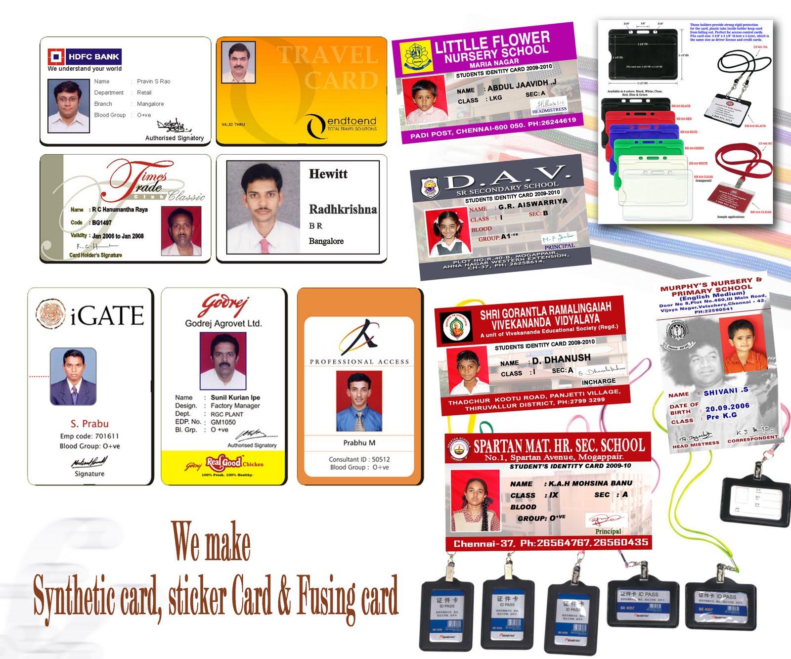 Kvdigital Sample School Id Designed By Us