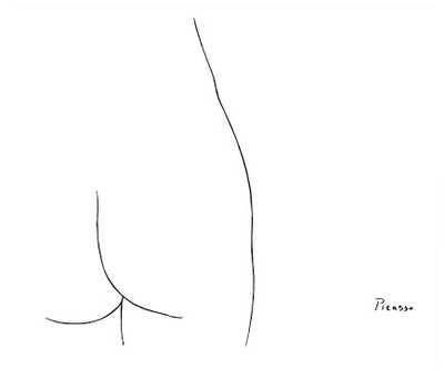 broken stitch blog sir pablo picasso simple lines