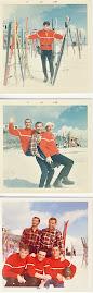 1967 Si scia a Macugnaga con il mio sci club
