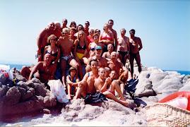 1999 Ferragosto con brindisi all'isola
