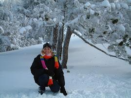 Silvia sotto un pino