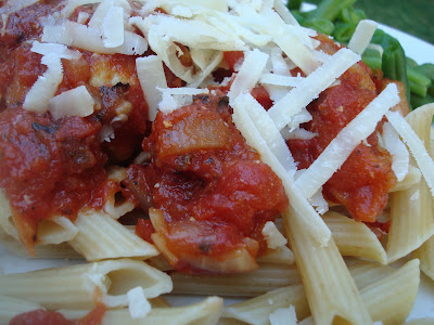 ... Krieger's Spaghetti Penne with Turkey Meatballs in Spicy Tomato Sauce