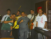 Ensaio do instrumental no Stúdio