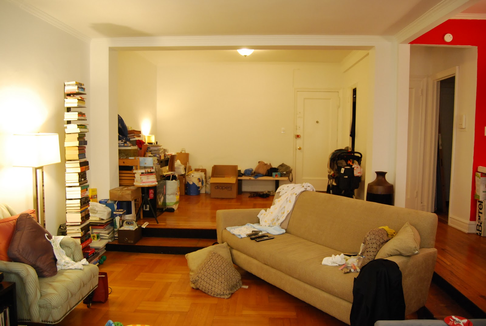 A Flash Redesign Brooklyn Living Room Before AND After