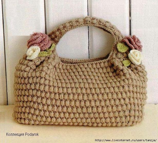 Bolsa De Mão Em Crochet : Arte e arremate bolsas em crochet