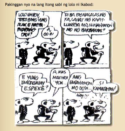 tagalog komiks strip