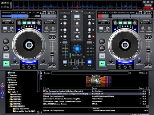 Download Atomix Virtual DJ Professional v.5 rev 6