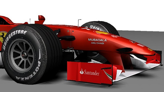 Ferrari F1 mod rFactor F1MG 2010