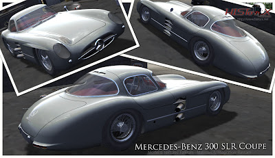 Nuevas rFactor HistorX 2.0 Preview Mercedes 300 SLR