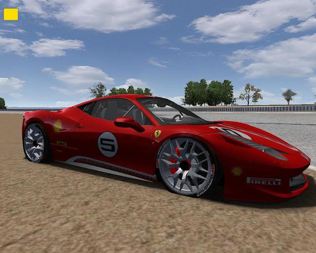 Mod rFactor Ferrari 458 Italia